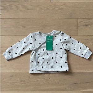 New H&M Conscious Sweatshirt Wrap 4-6 Months